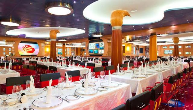 Cruzeiro Disney Dream Restaurante Navio