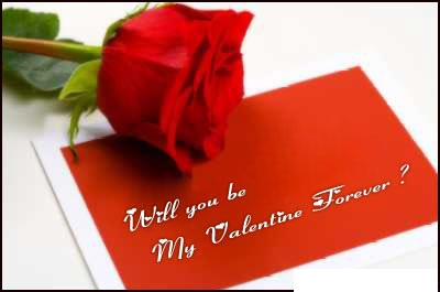 Will You Be My Valentine On 2013? How To Propose ?