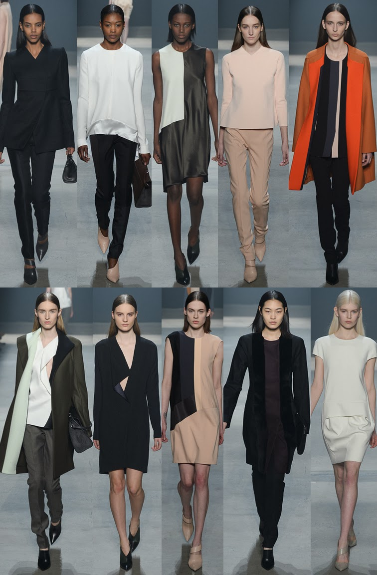 Narciso Rodriguez fall winter 2014 runway collection, NYFW, fashion week