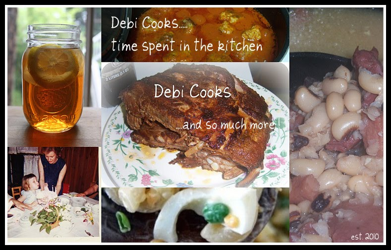 Debi Cooks.........
