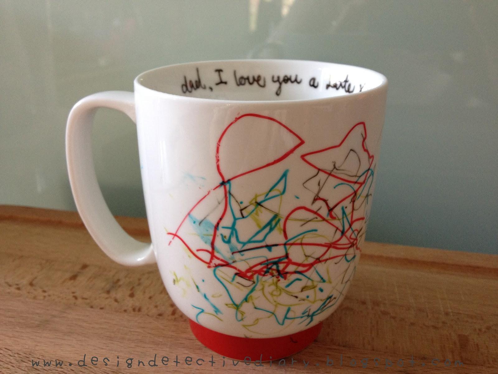 Design Detective Diy Father 39 S Day Mug