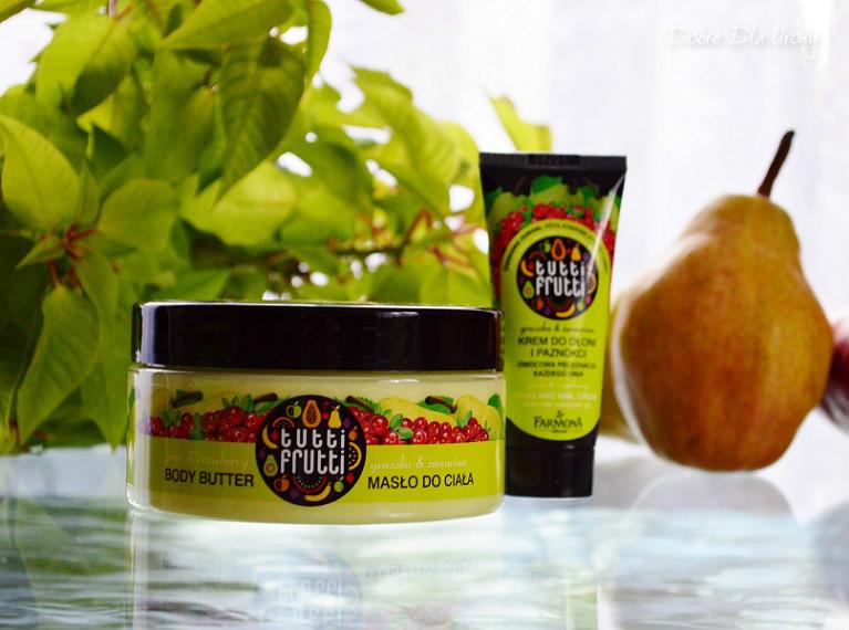 Tutti Frutti Gruszka & Żurawina masło do ciała