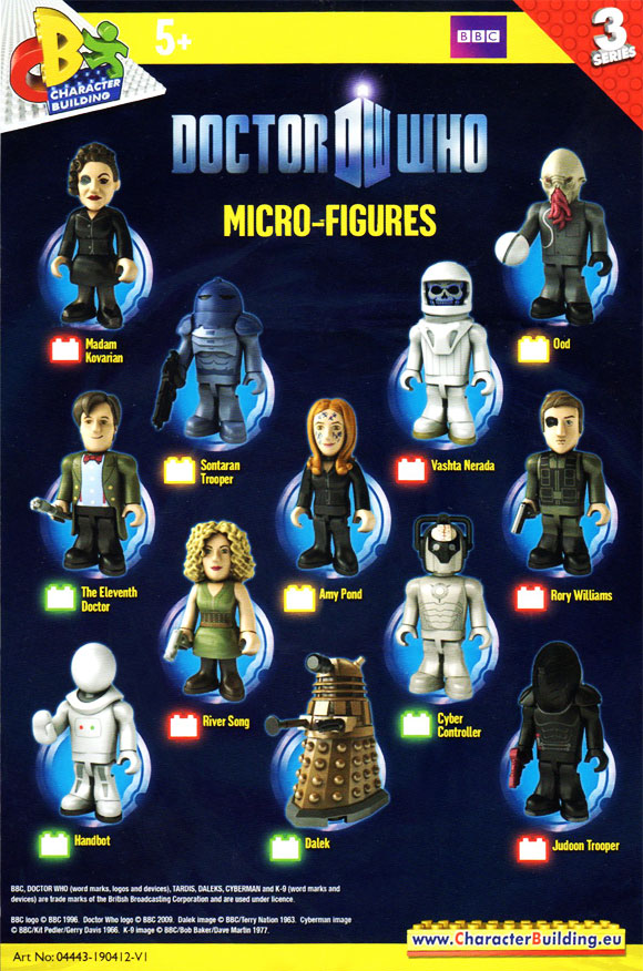 Character Building Doctor Who Micro Figure Cyberman