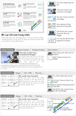 Magazine recent post for homepage v3 blogspot