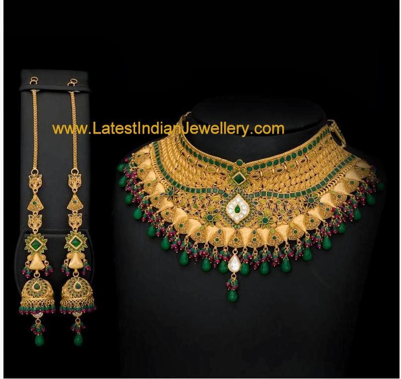 Gold Jewellery Necklaces Calcutta Design Gold Necklace