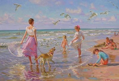 niñas-en-paisajes