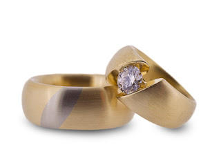unique wedding ring sets