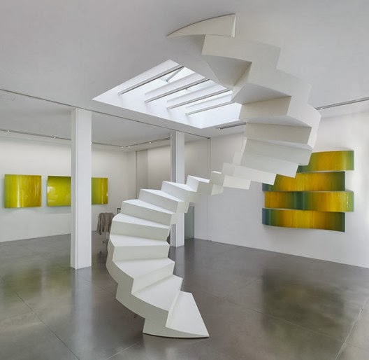 floating stair by lang baumann