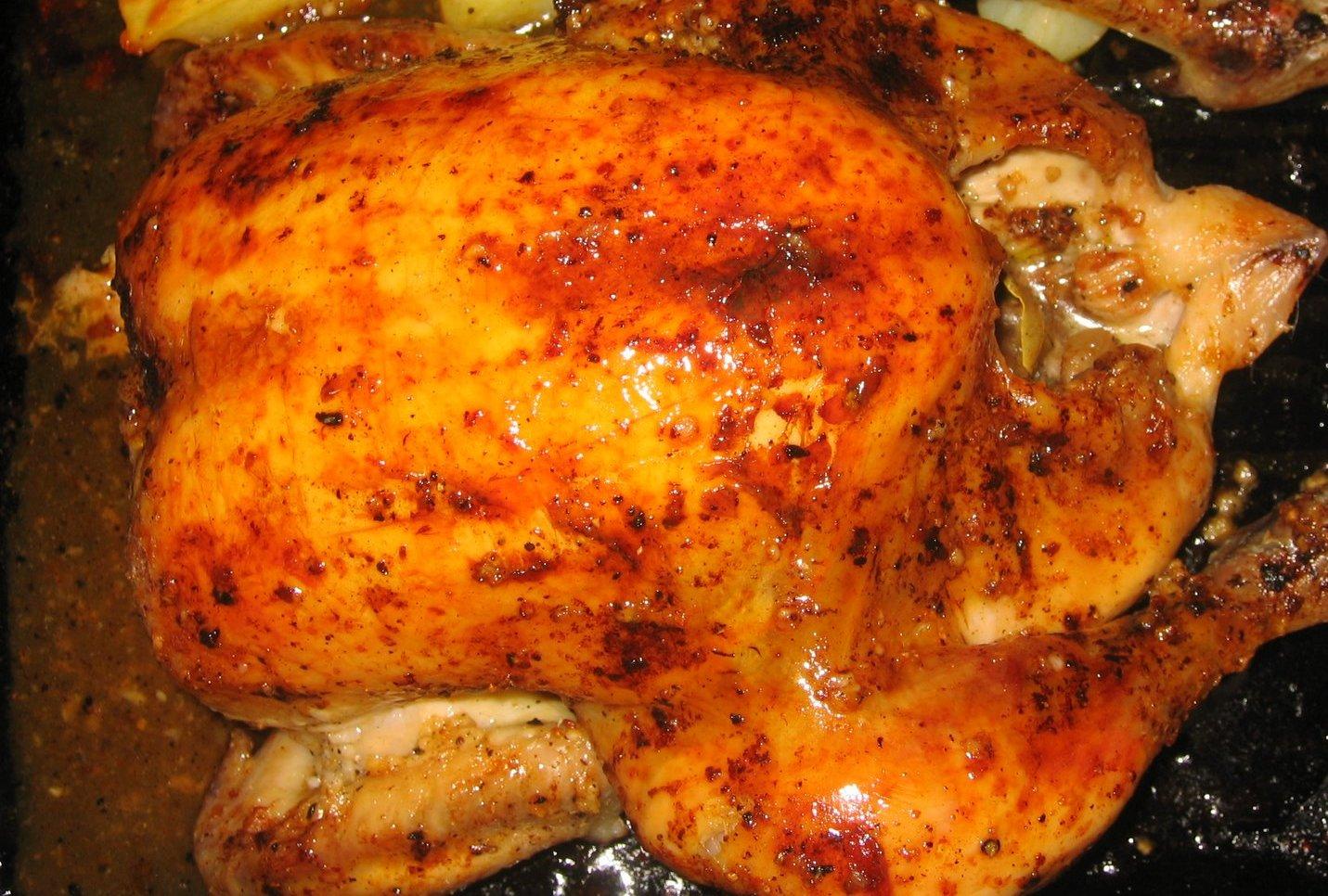 Курица в фольге в духовке - пошаговый рецепт с фото - Со вкусом