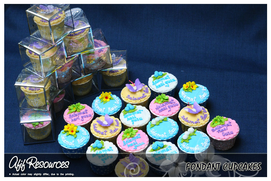Cookies For Wedding Door Gift : ... Garden Cakes & Cookies :.: Fondant CupcakesDoor Gift / Wedding Gift