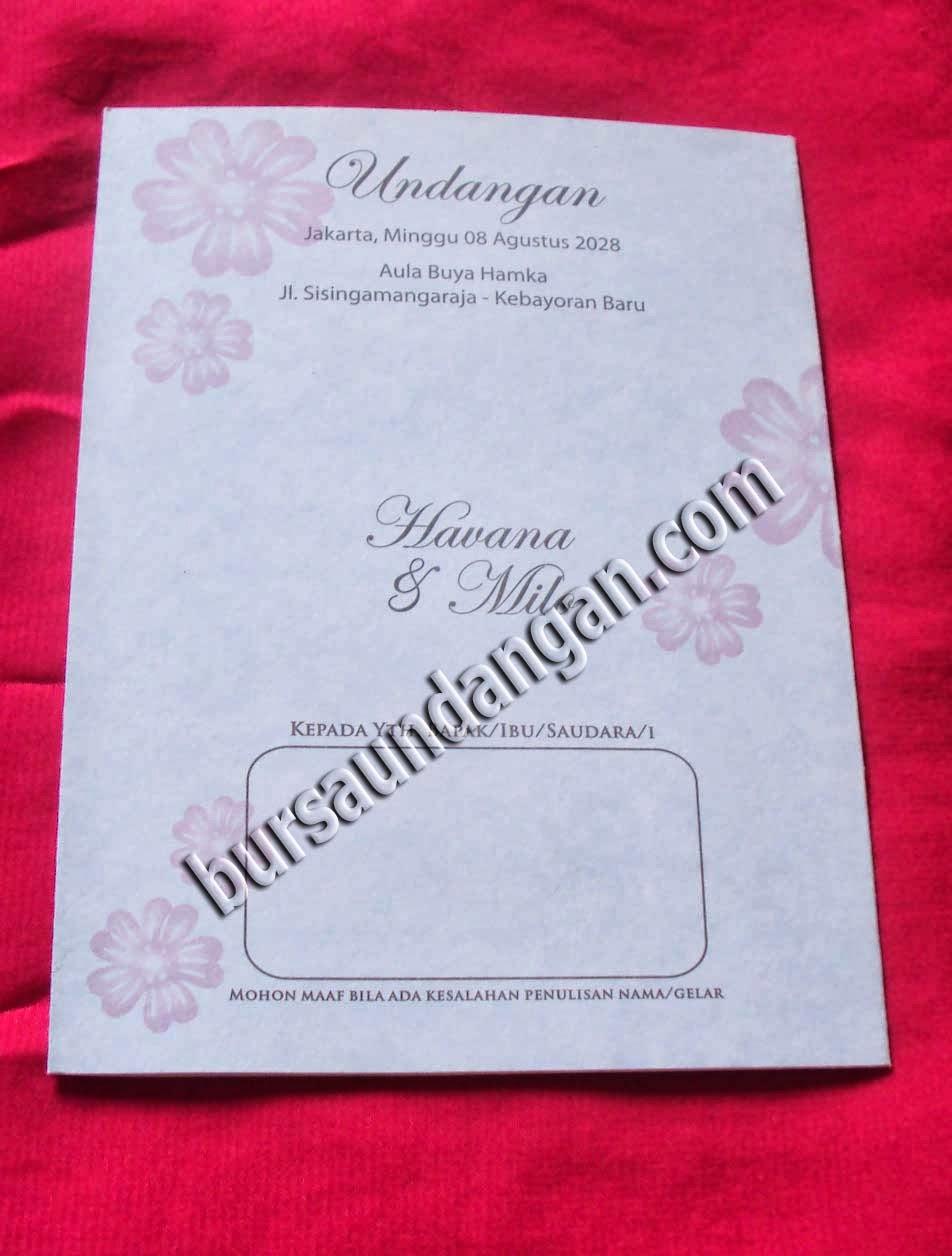 Cetak kartu undangan dengan desain kartu undangan pernikahan murah
