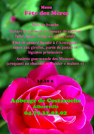 menu du 31 mai