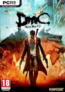 Cover DmC: Devil May Cry 2013 | www.wizyuloverz.com