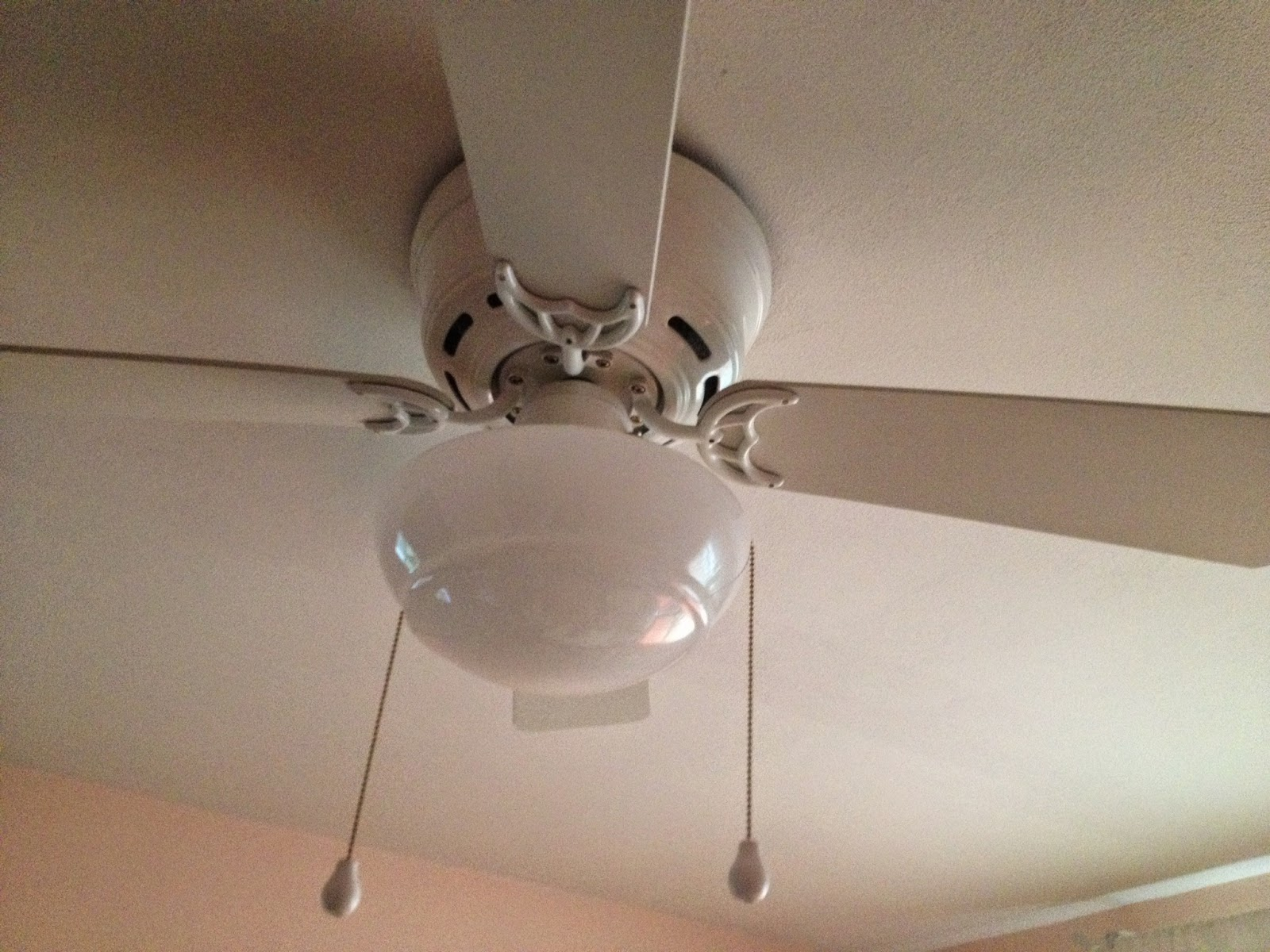 Mess of the Day Ikea Hack Ceiling Fan Chandelier