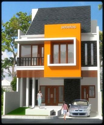 Gambar Rumah Minimalis Type 36 2 Lantai 2014