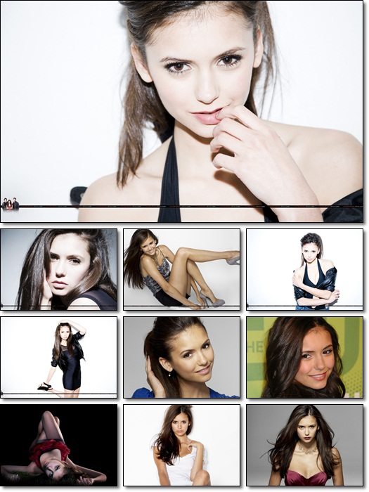Nina Dobrev Photo Pack