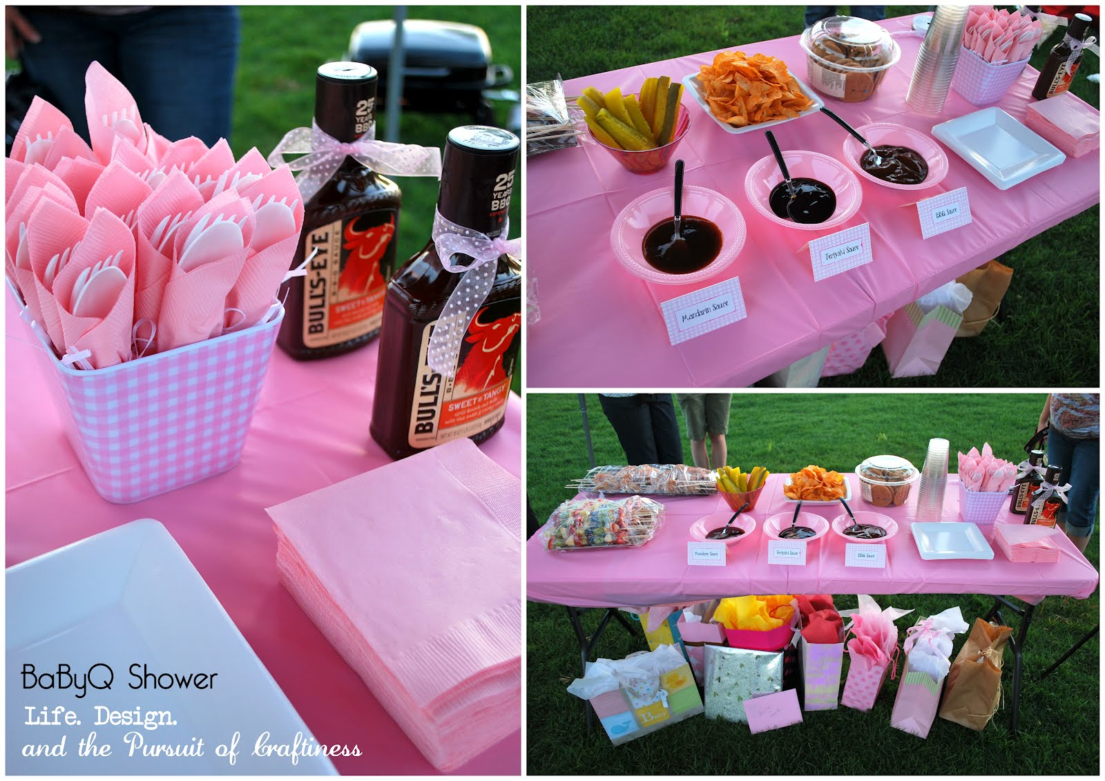Life design and the pursuit of craftiness baby bbq baby for Baby shower bbq decoration ideas