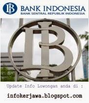 Lowongan Kerja Terbaru Bank Indonesia