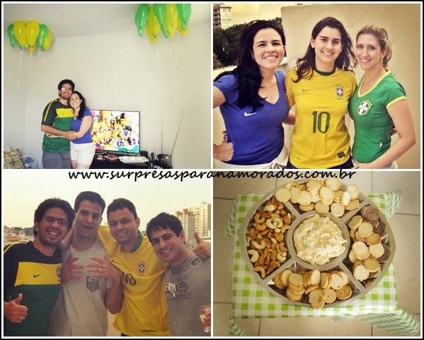 jogo do brasil em casa com amigos