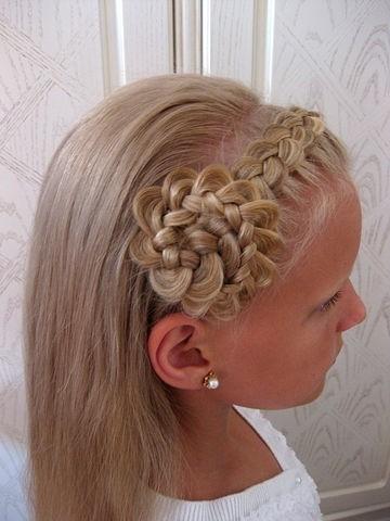Прическа на новый год своими руками на длинные волосы для девочки