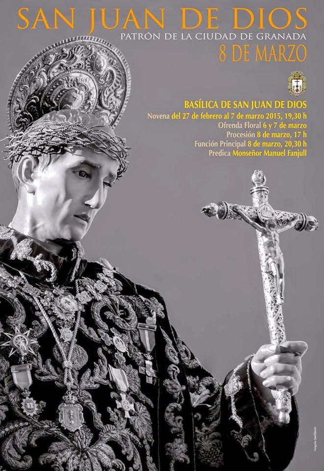 Cartel anunciador San Juan de Dios 2015