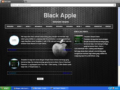 Template Black V1 & V2