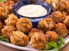 Gina S Italian Kitchen Spicy Creole Crab Balls And Creole