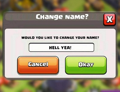 How to Change Account Name COC More Than Once