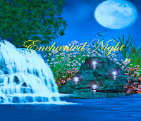Enchanted Night digital fantasy backgrounds