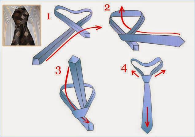 Kaklaraiščio rišimas Nr.1