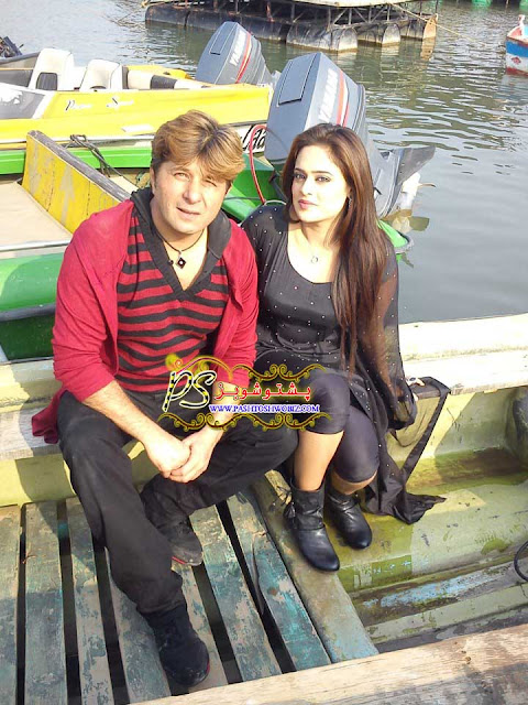 Arbaz Khan (Inteha Film Director and Actor), Sobia Khan (Film Heroine)