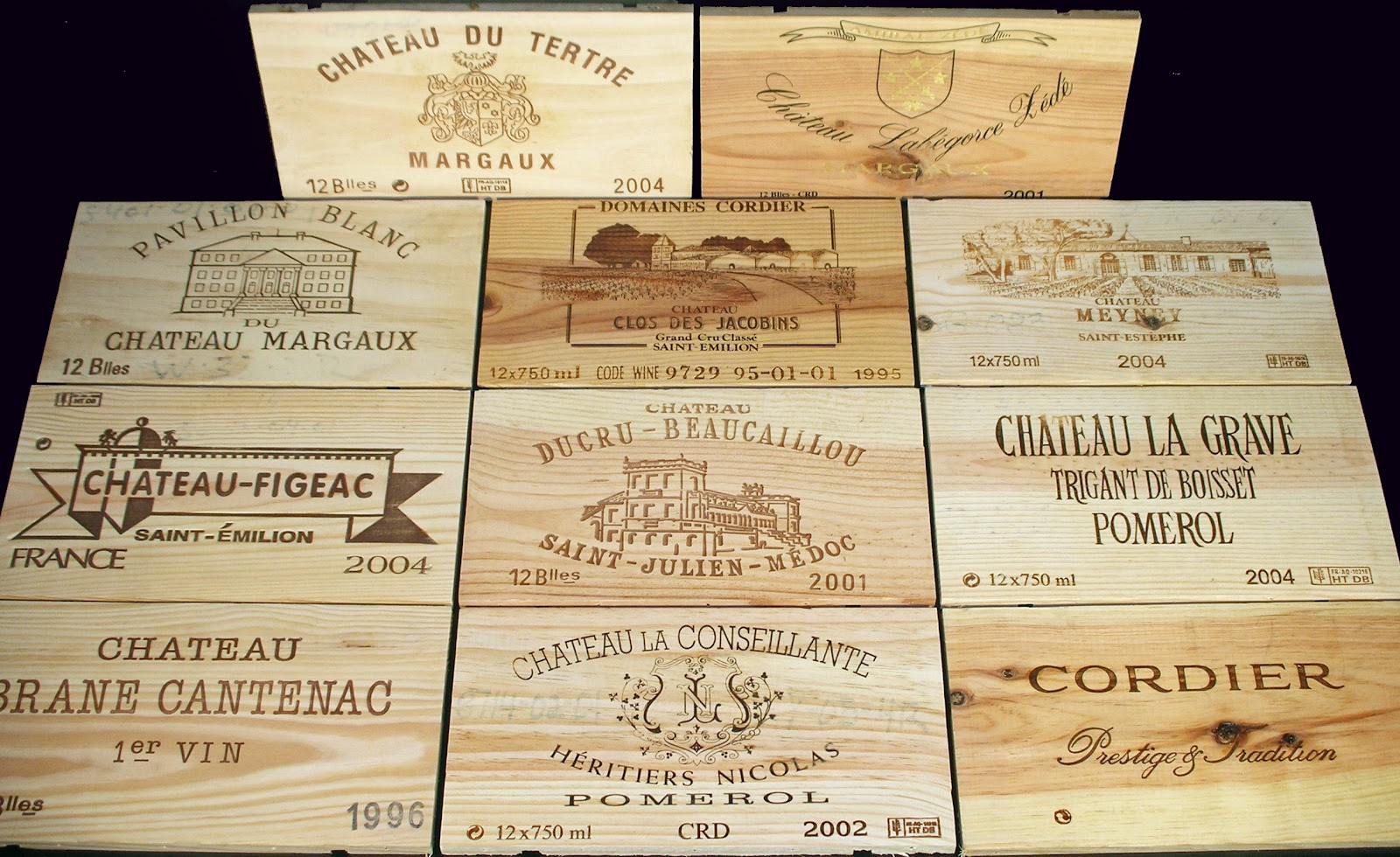 Buy wood wine crates autos weblog for Where to buy used wine crates