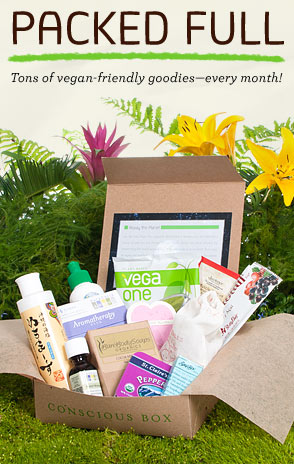 Vegan Conscious Box, Life with Norma Kay