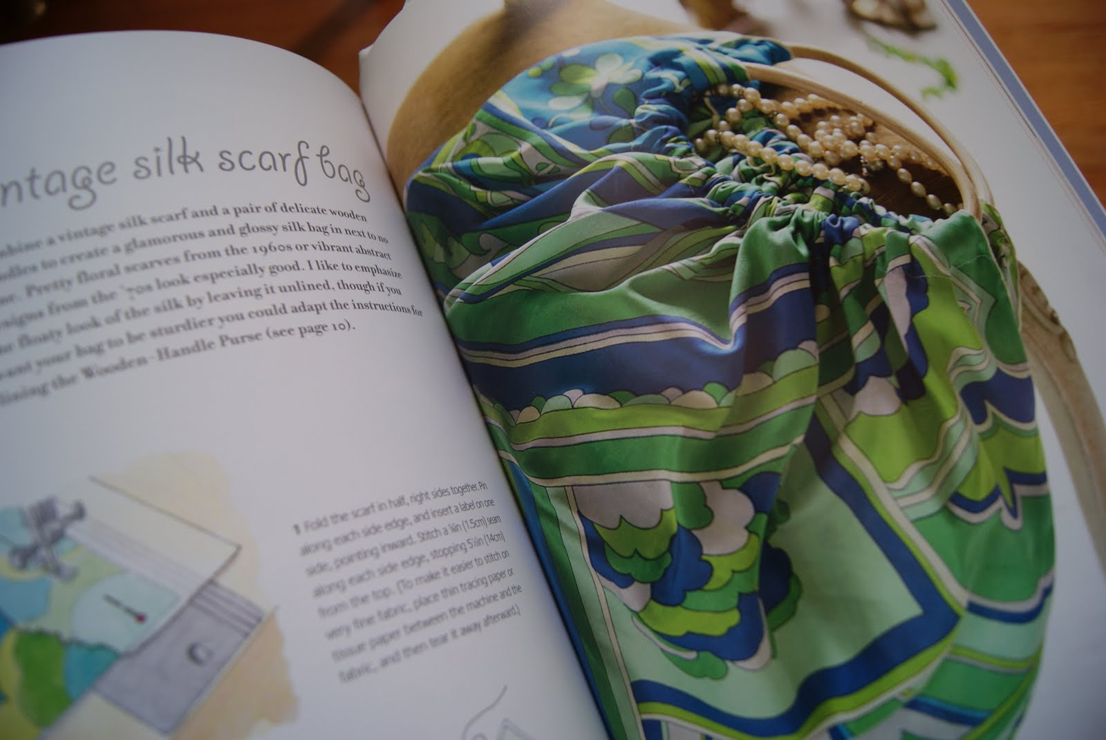 how to make a silk scarf without sewing