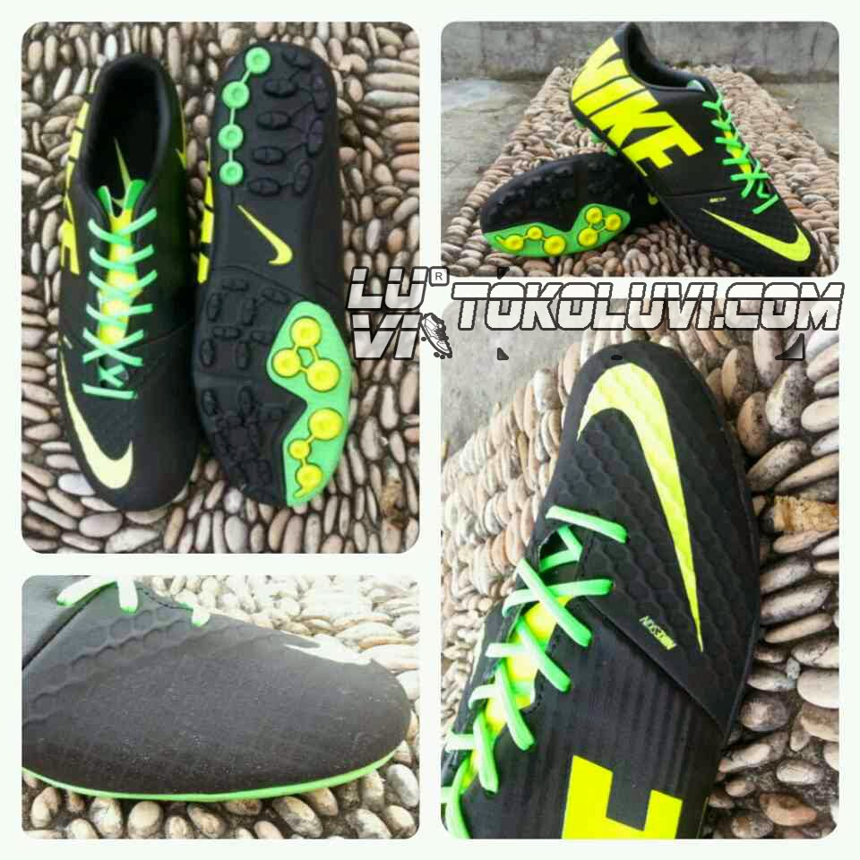 NIKE FC247 BOMBA FINALE II  FULL BLACK REPLICA IMPORT