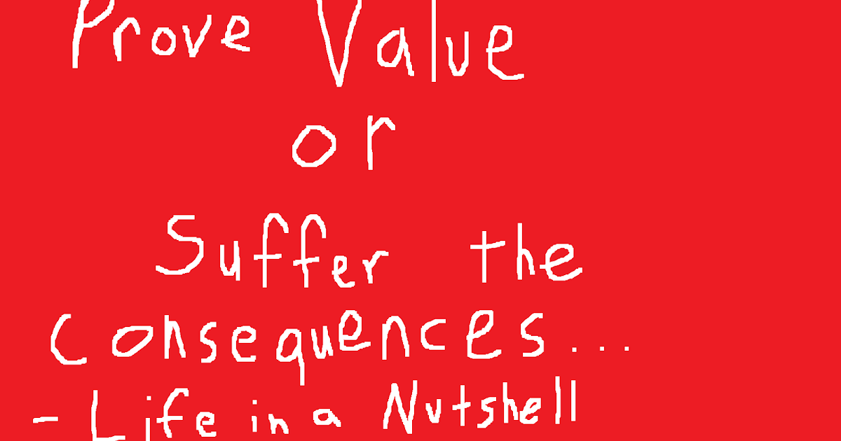 Value makes your world go round