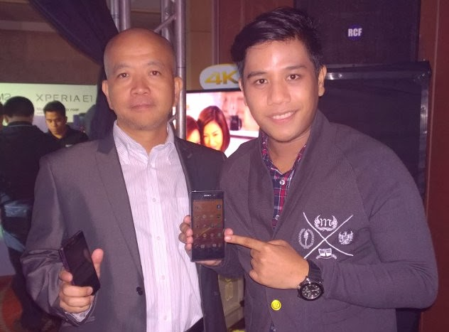 2014 Sony Xperia Smartphones, Yasushi Asaoka, Mark Milan Macanas
