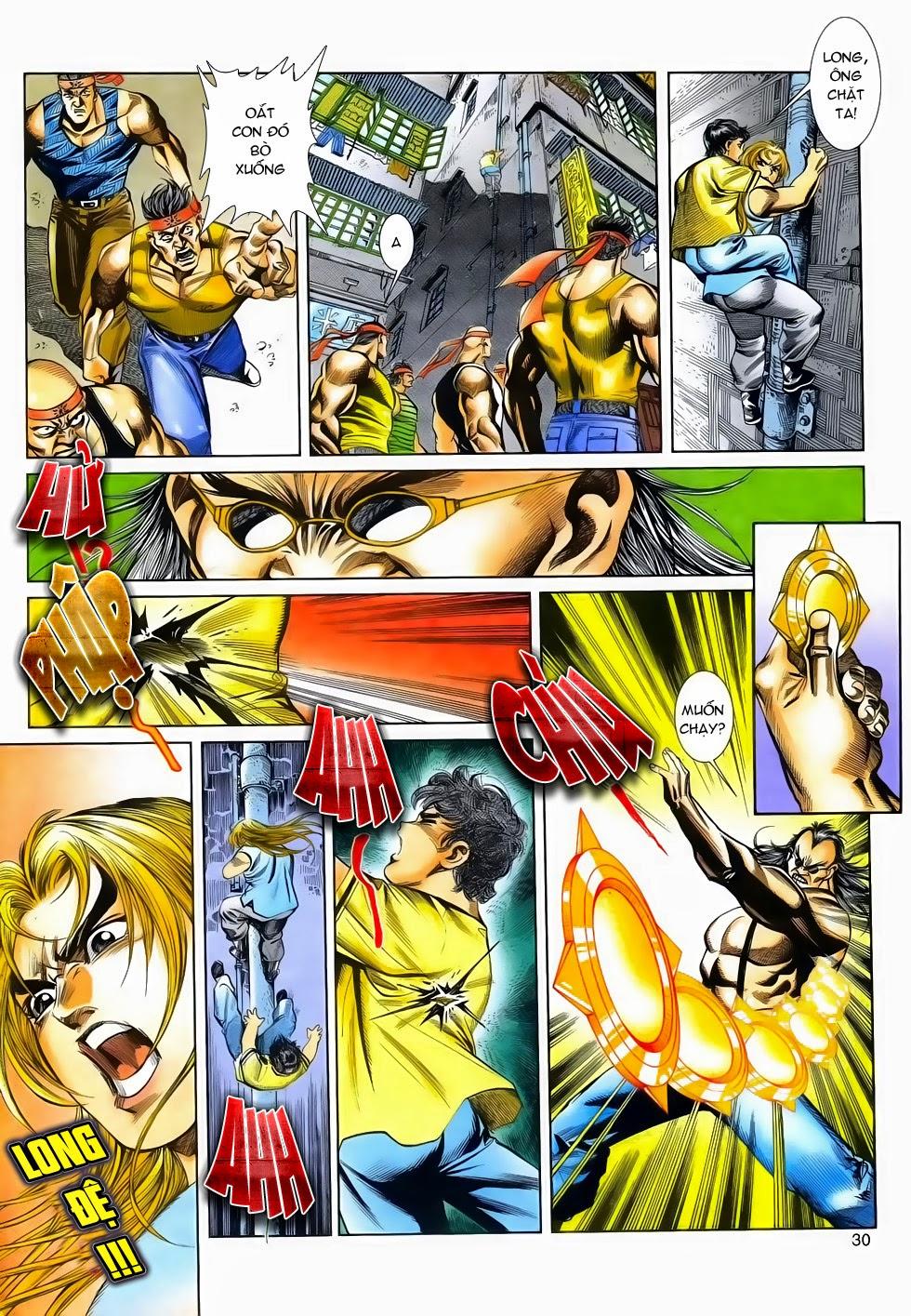 Long Hổ Phong Bạo chap 2 - Trang 30