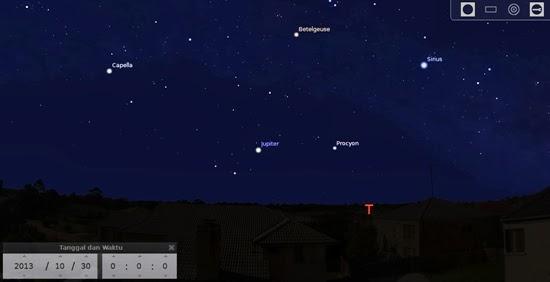 Lihat 3 Planet, Bulan dan Meteor Malam Ini