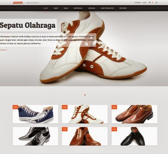Sapatoo - Clean Woocommerce WordPress Theme