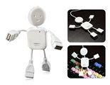 Little Human Being Shaped 4 Ports USB Hub