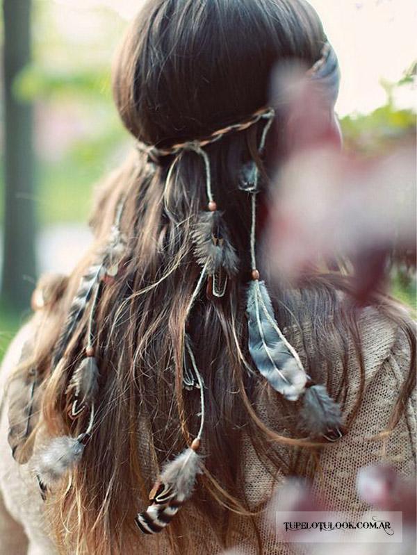 peinados 2015 look boho
