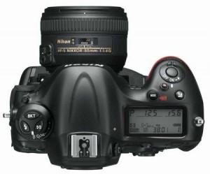 Nikon D4 dSLR camera