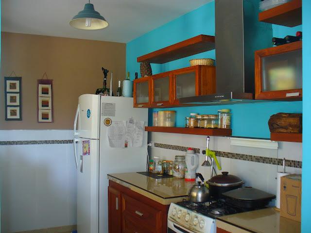 La lourdesea mi cocina turquesa for Como planificar mi cocina