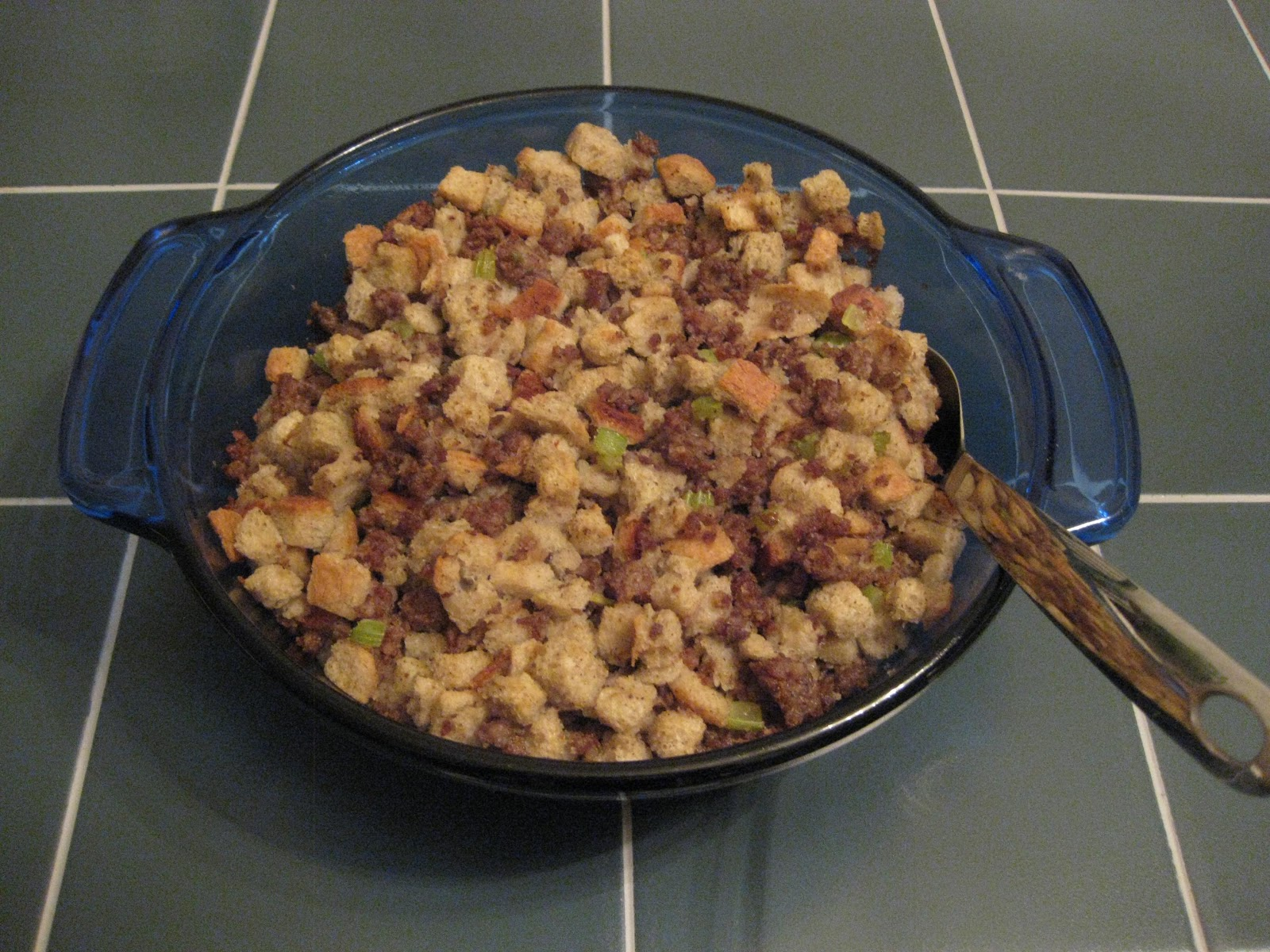 Sensible Recipes: Pork Sausage Stuffing Recipe