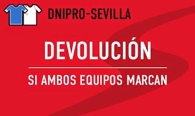 sportium bono 50 euros devolucion Final Europa League Dnipro vs Sevilla 27 mayo