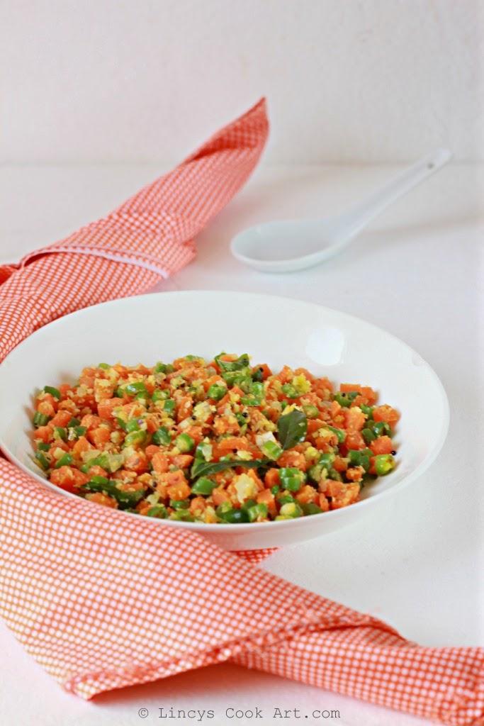 Carrot Beans Kootu