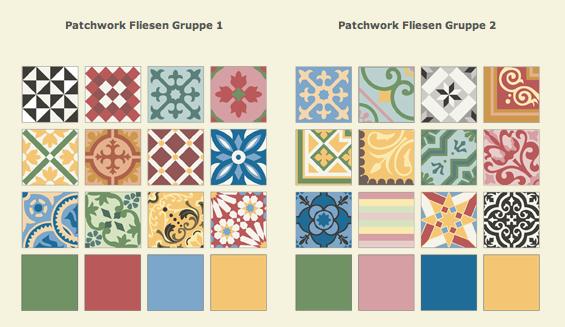 Zementfliesen Patchwork mosaico zementfliesen januar 2014