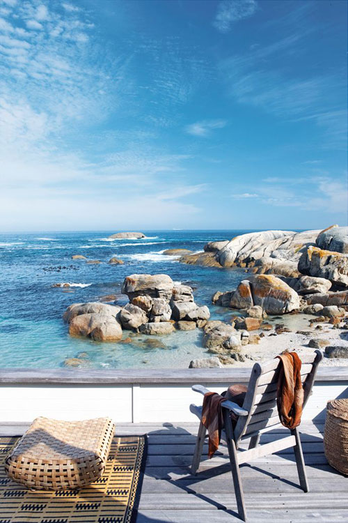 Something blue living pristine cape town bakoven beach for Beach house design cape town