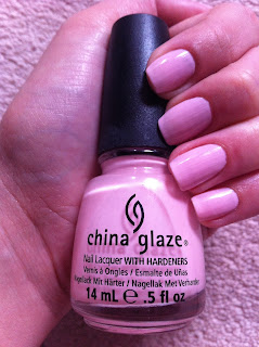 China Glaze Go Go Pink nail polish